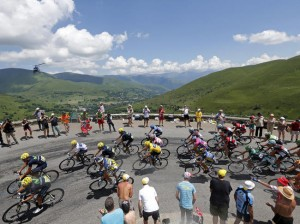 Tour de France Pyrenees