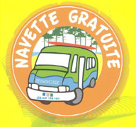 Free beach bus service Seignosse