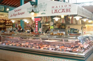St Jean de Luz indoor market
