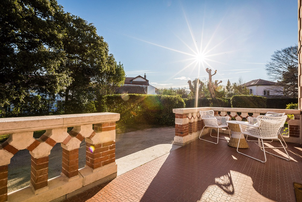 Coffee and croissants on the terrace...yes please! image