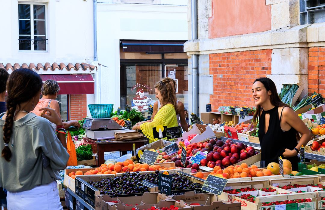 Best Food Markets SW France Coast