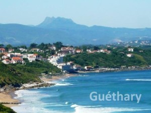Guethary - a Basque coast beauty image