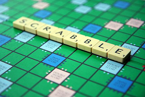 Anyone for scrabble? image