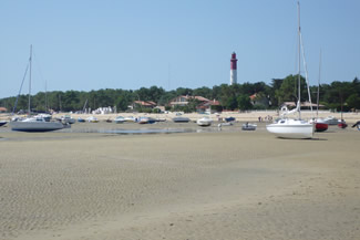 Low tide in the Bay of Arcachon