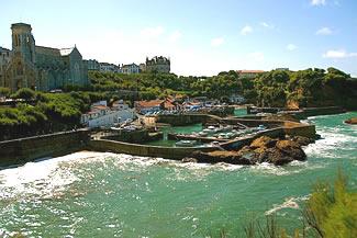 Biarritz le Vieux Port