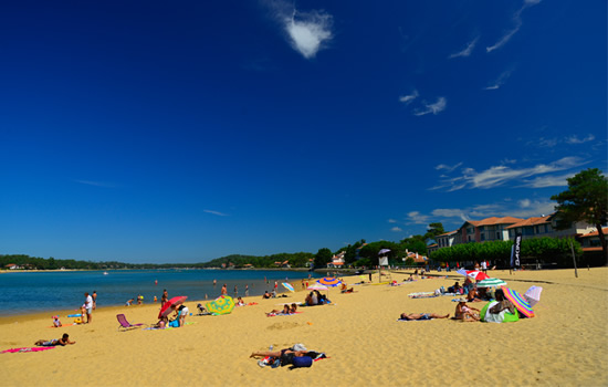 Hossegor lake beach, Hossegor holiday rentals