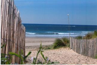 Medoc Coast beach