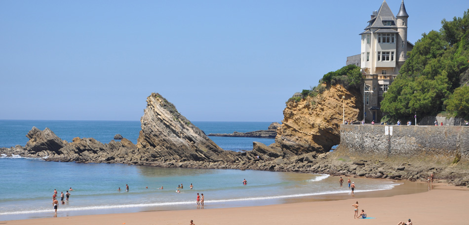 Plage des Basques Biarritz