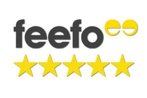 Best rated by Feefo