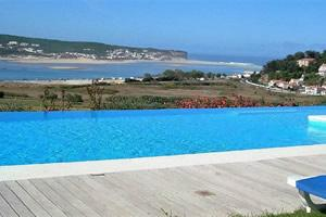 Obidos lagoon villa Foz do Arelho Portugal