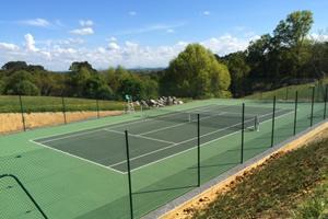 Villa with private tennis France