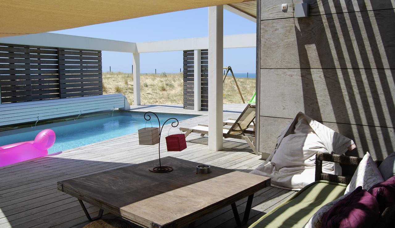 120 Villa Estagnots pool and deck