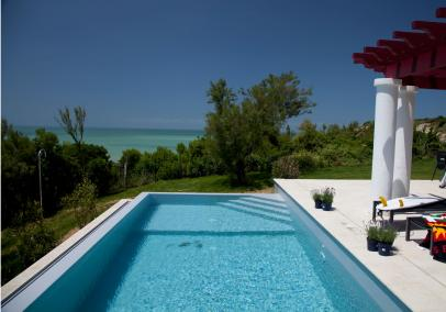 biarritz villa private pool | Villa d'Uhabia
