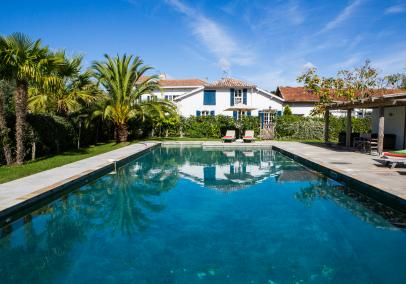 private pools biarrtiz | Manoir de Seignanx