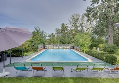 bordeaux villa with pool | Clos de Chinon