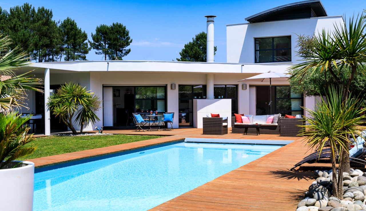 Modern 4 Bedroom Villa With Private Pool Near Hossegor