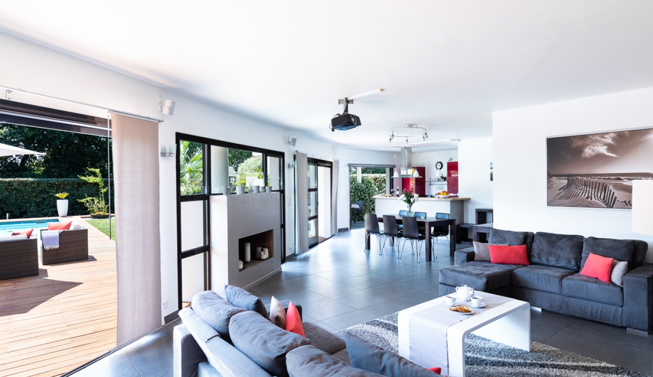 Modern 4 Bedroom Villa With Private Pool Near Hossegor