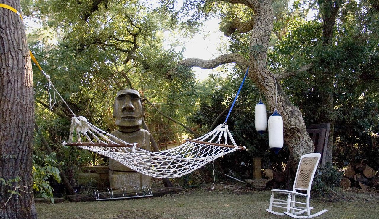 031 Hossegor Beach House hammock