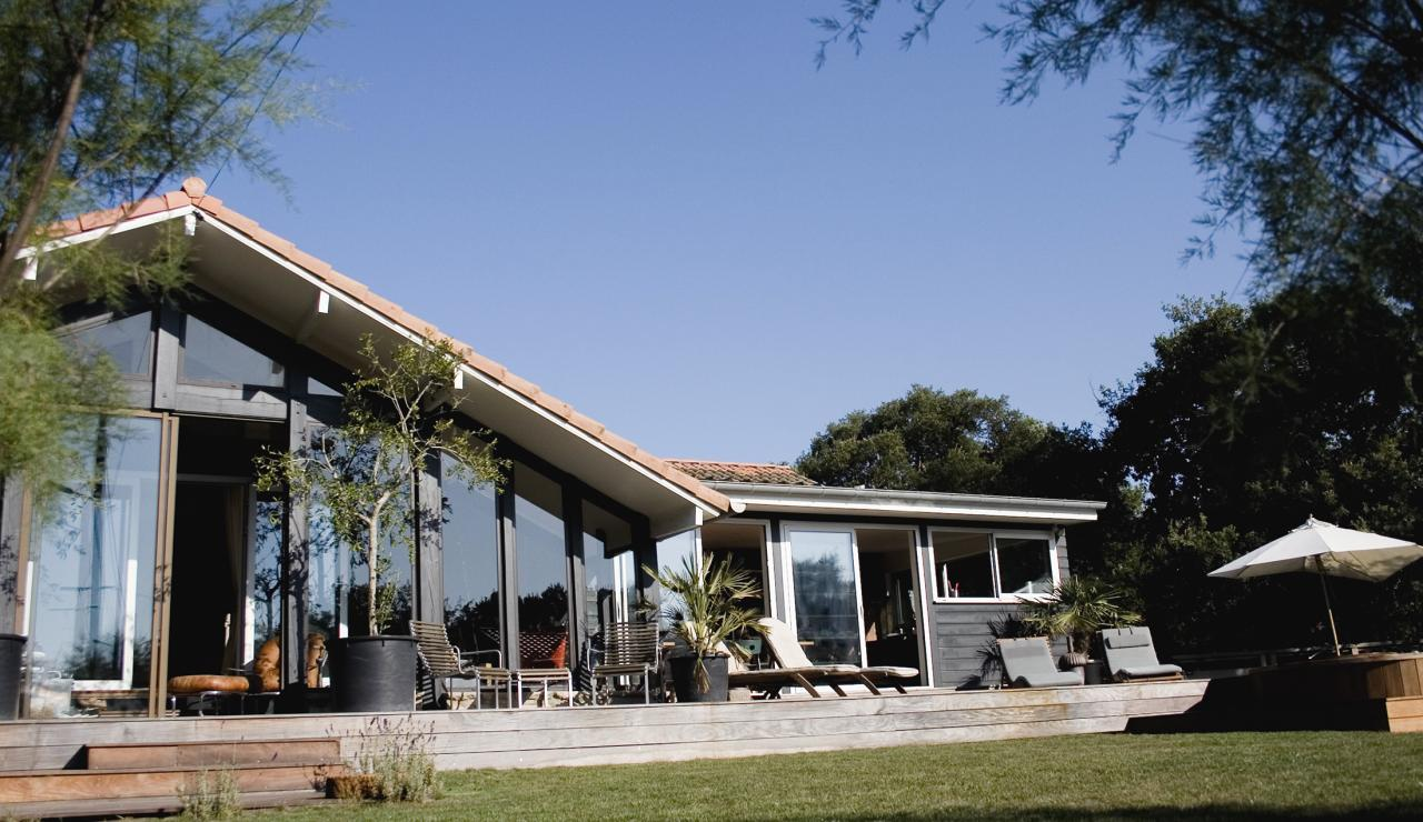 031 Hossegor Beach House front main