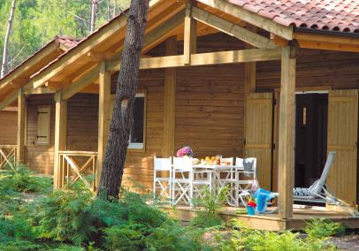 Cottages du Lac chalet