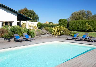 villas in biarritz with pools, France | Villa d'Ilbarritz