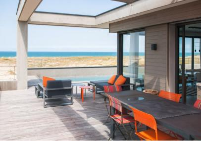 Hossegor luxury beach villa sea view