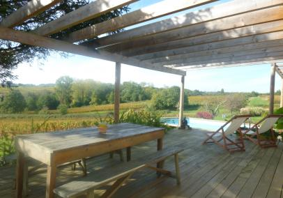 Bordeaux accommodation | vineyard cottages | Maison Orchis