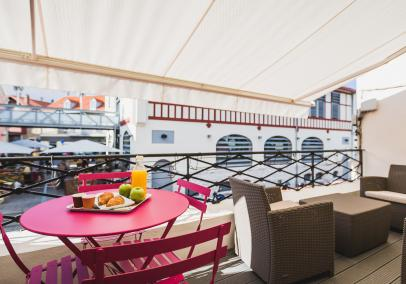 holiday rentals biarritz, France | Appartement Marché