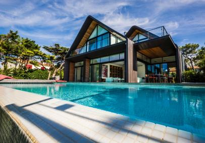 luxury villas biarritz | Villa Madrague