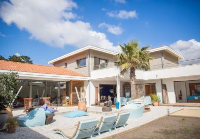 Luxury Vieux Boucau beach Villa Maurita