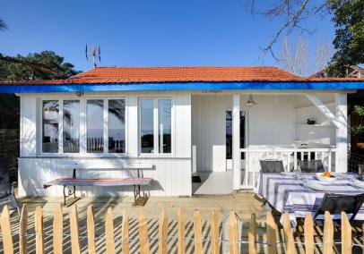 authentic Cap Ferret beach house