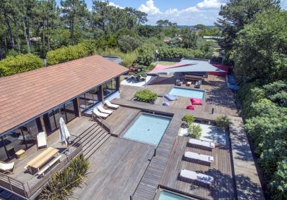 Villa des Pinsons Cap Ferret 44 hectares
