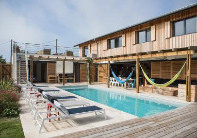 Esta Beach House Hossegor luxury villa rental