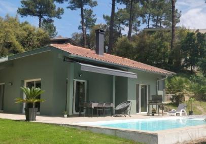 Seignosse Ocean villa with pool