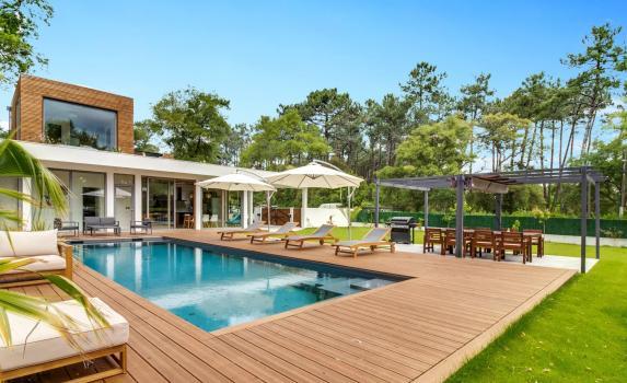 Beautiful design villa with pool Hossegor