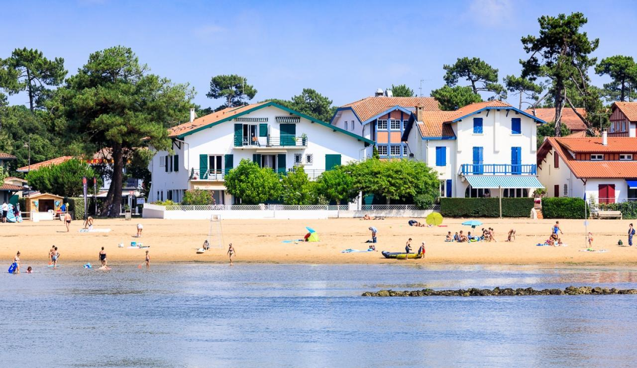hossegor-lake-beach