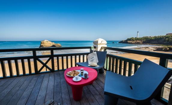 Biarritz luxury apartment with ocean views
