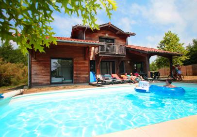 Domaine de la Prade villa with pool Moliets