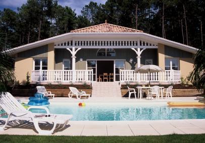 Atlantic Green Lacanau villa exterior