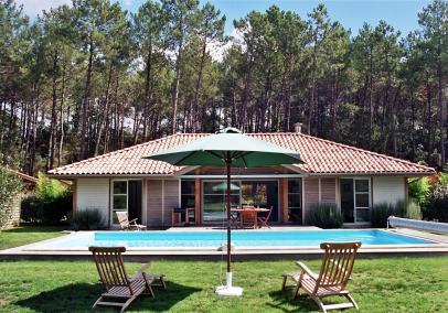 Moliets Plage villa resort Clairiere aux Chevreuil