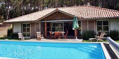 Villas with pools Moliets Plage